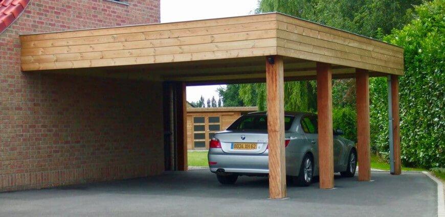 avantages du carport en bois