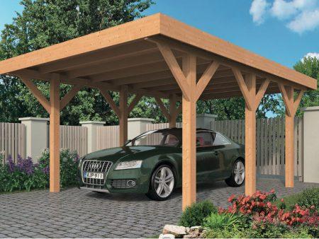 Avantages & inconvénients d'un carport en bois