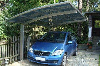 carport alu ellipsis e2 en 4 couleurs et pour une voiture
