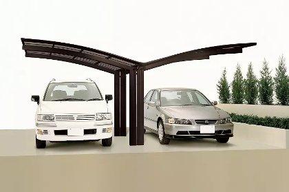 carport double en alu original calypso duo pour 2 voitures